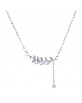 Miadora Diamond Infinity Heart Necklace